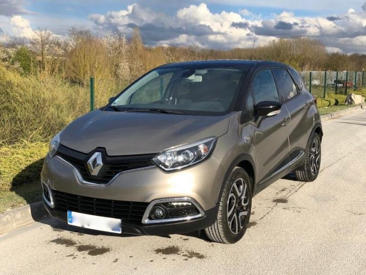 Renault CAPTUR 15 DCI 90 INTENS Gris Occasion - 1