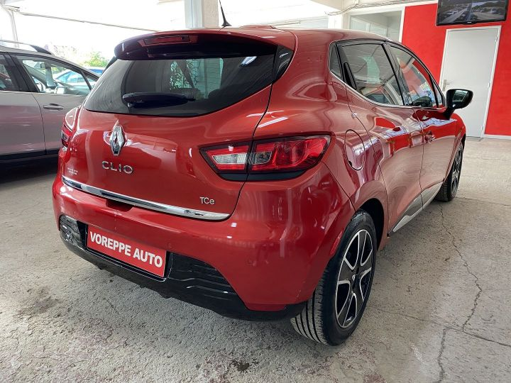 Renault Clio 0.9 TCE 90CH ENERGY INTENS ECO² Rouge - 4