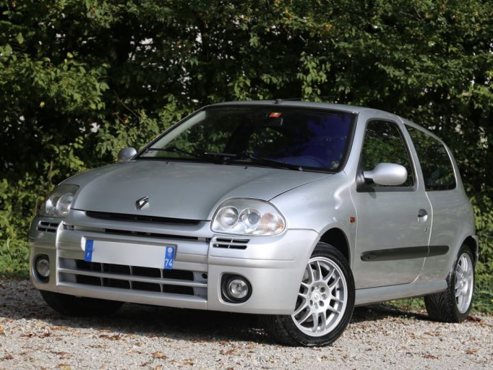 Renault Clio 2 RS1 16v SHIFTLIGHT Gris Clair - 1