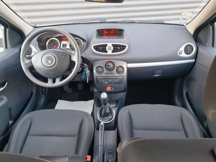 Renault Clio 3 1.5 dci 75 expression clim 5 pts Blanc Occasion - 5