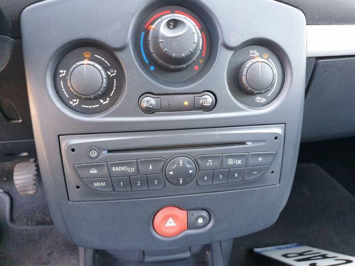 Renault Clio 3 iii 1.2 16v 75 cv alize 5 portes Blanc Occasion - 12