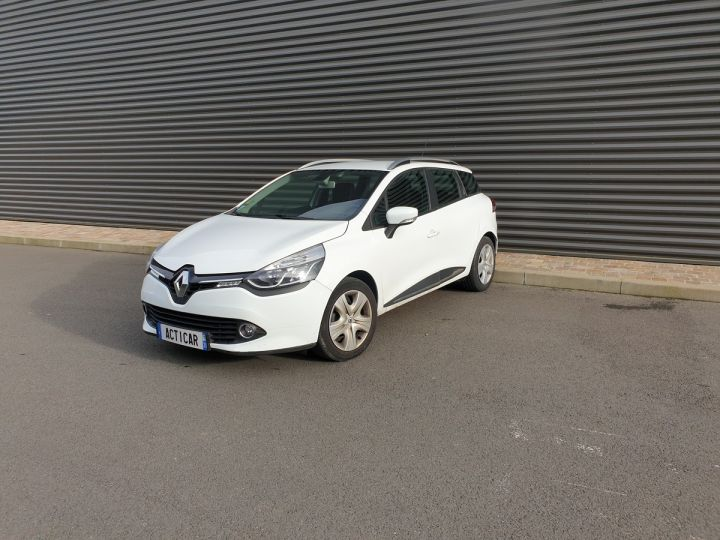 Renault Clio 4 estate 1.5 dci 90 business bv5 a Blanc Occasion - 1