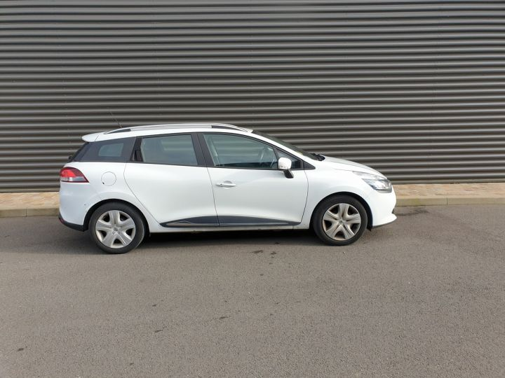 Renault Clio 4 estate 1.5 dci 90 business bv5 a Blanc Occasion - 3