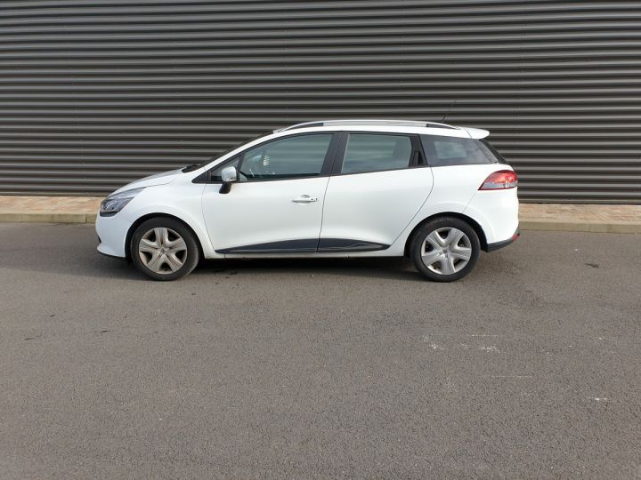 Renault Clio 4 estate 1.5 dci 90 business bv5 a Blanc Occasion - 4