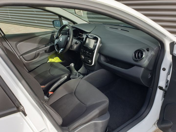 Renault Clio 4 estate 1.5 dci 90 business bv5 a Blanc Occasion - 7