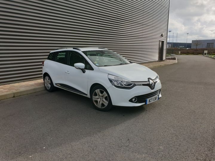 Renault Clio 4 estate 1.5 dci 90 business bv5 i Blanc Occasion - 2