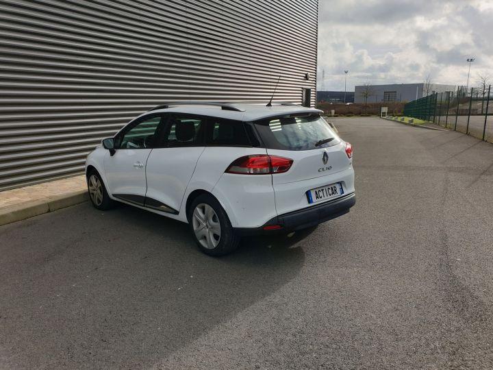 Renault Clio 4 estate 1.5 dci 90 business bv5 pi Blanc Occasion - 17