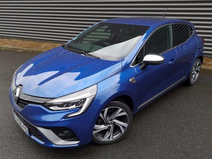 Renault CLIO 5 1.5 BLUE DCI 115 RS LINE Bleu Occasion - 1