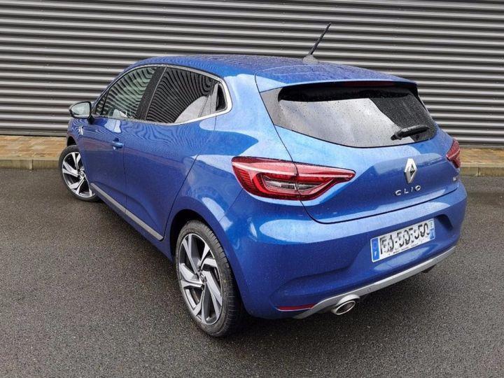 Renault CLIO 5 1.5 BLUE DCI 115 RS LINE Bleu Occasion - 2