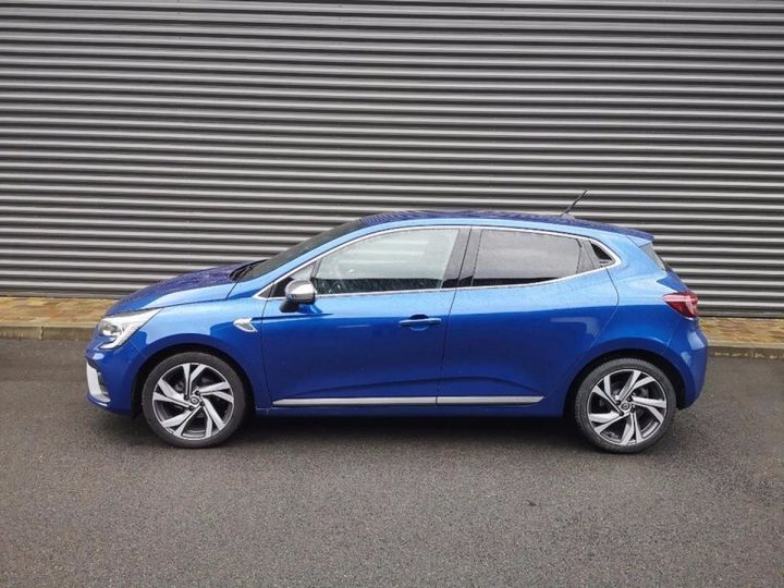 Renault CLIO 5 1.5 BLUE DCI 115 RS LINE Bleu Occasion - 7