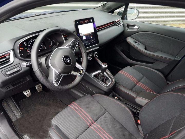 Renault CLIO 5 1.5 BLUE DCI 115 RS LINE Bleu Occasion - 8