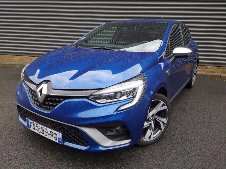 Renault CLIO 5 1.5 BLUE DCI 115 RS LINE Bleu Occasion - 16