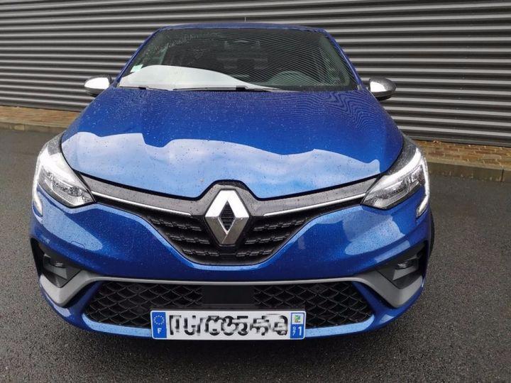 Renault CLIO 5 1.5 BLUE DCI 115 RS LINE Bleu Occasion - 17