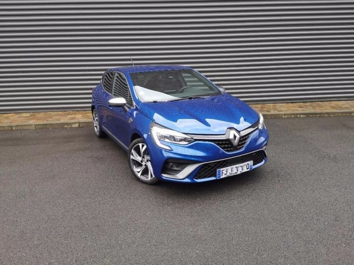 Renault CLIO 5 1.5 BLUE DCI 115 RS LINE Bleu Occasion - 21