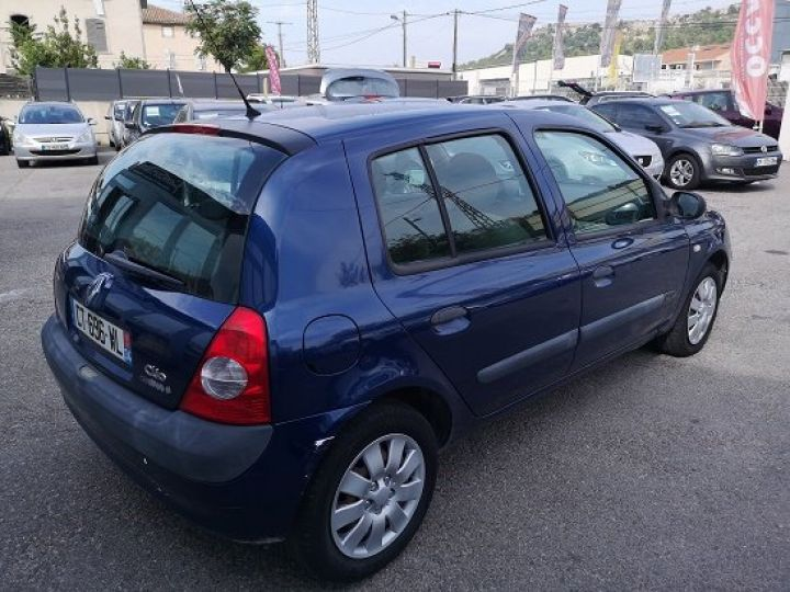 Renault CLIO CAMPUS BLEU FONCE Occasion - 4