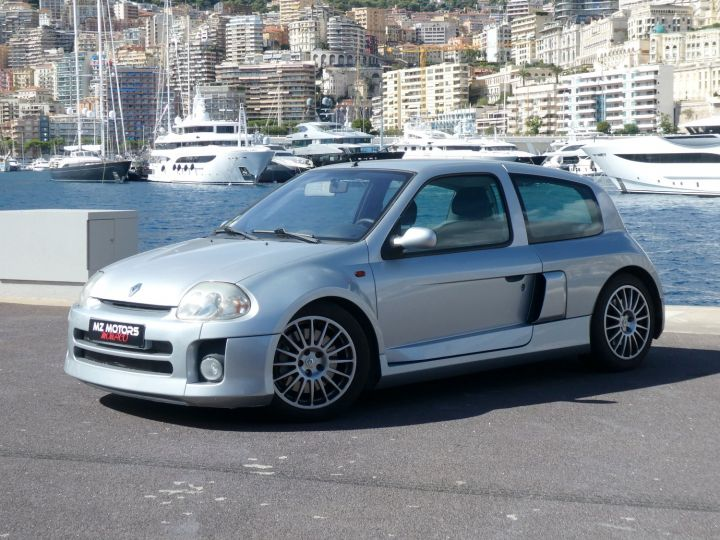 Renault Clio II V6 24S 230 RS 3P Argent Occasion - 1