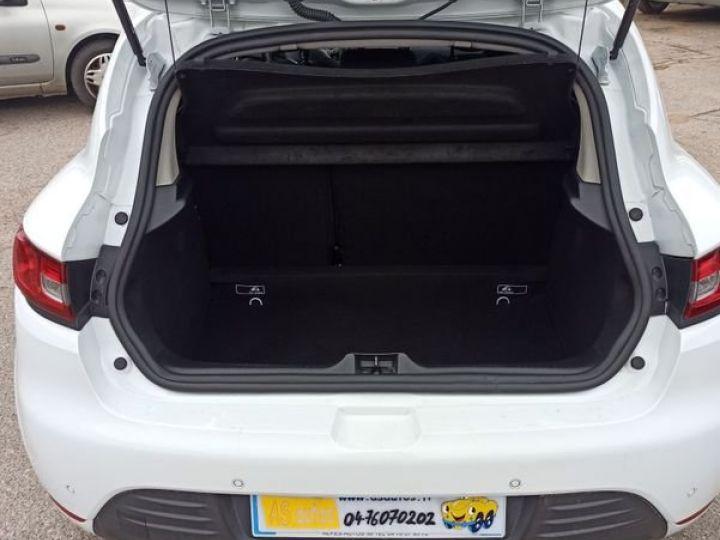 Renault Clio iv 1.5 dci 90 business Blanc - 3