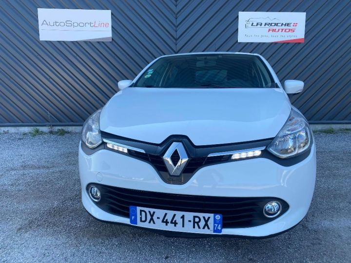 Renault Clio IV SOCIETE TVA RECUPERABLE BLANC - 2