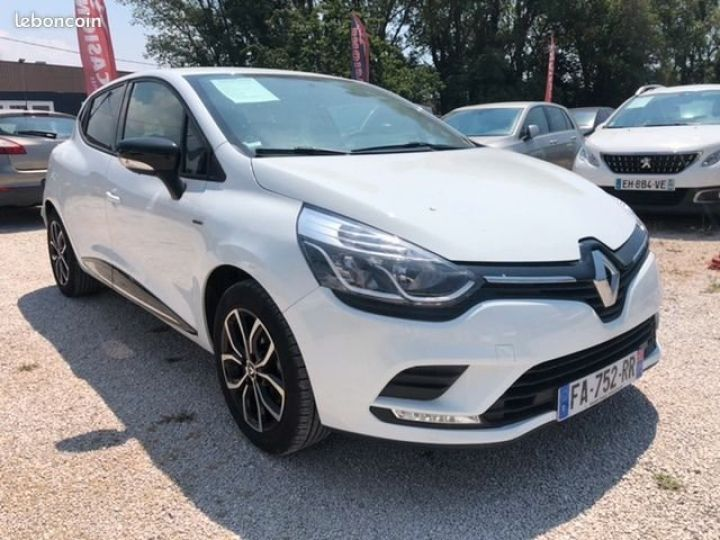 Renault Clio iv tce limited Blanc Occasion - 2