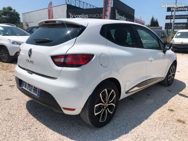 Renault Clio iv tce limited Blanc Occasion - 3