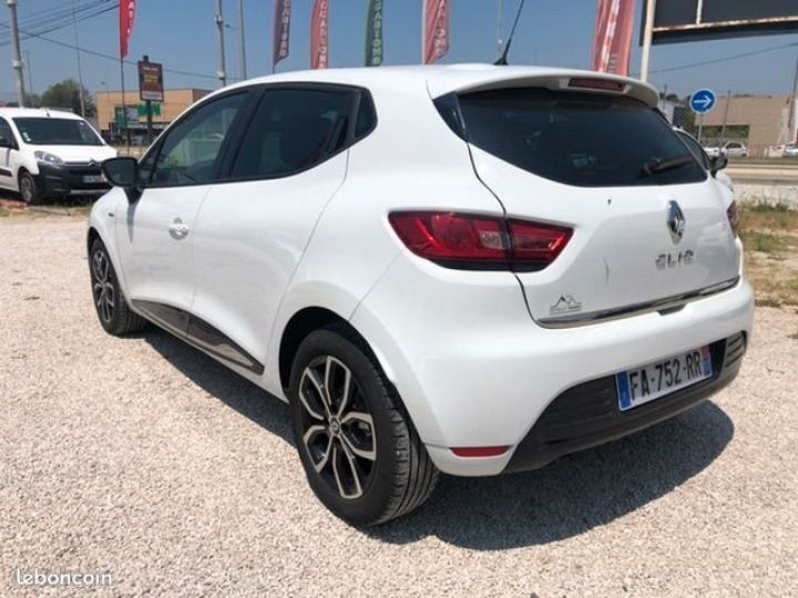 Renault Clio iv tce limited Blanc Occasion - 4