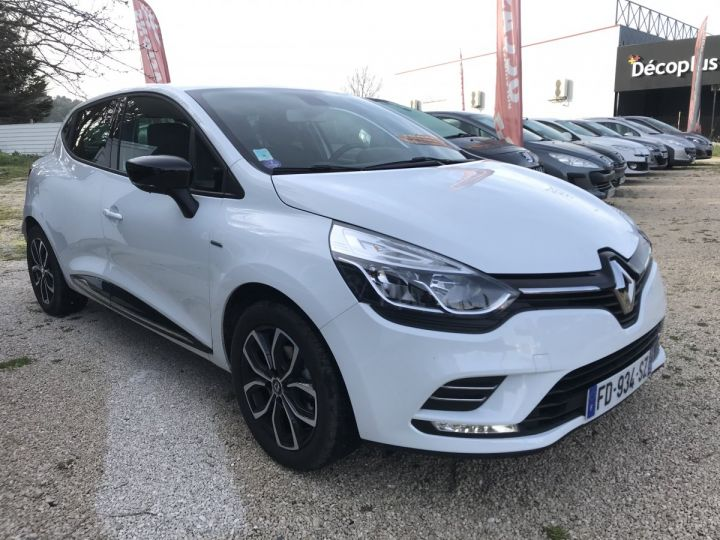 Renault CLIO LIMITED  BLANC  Occasion - 2
