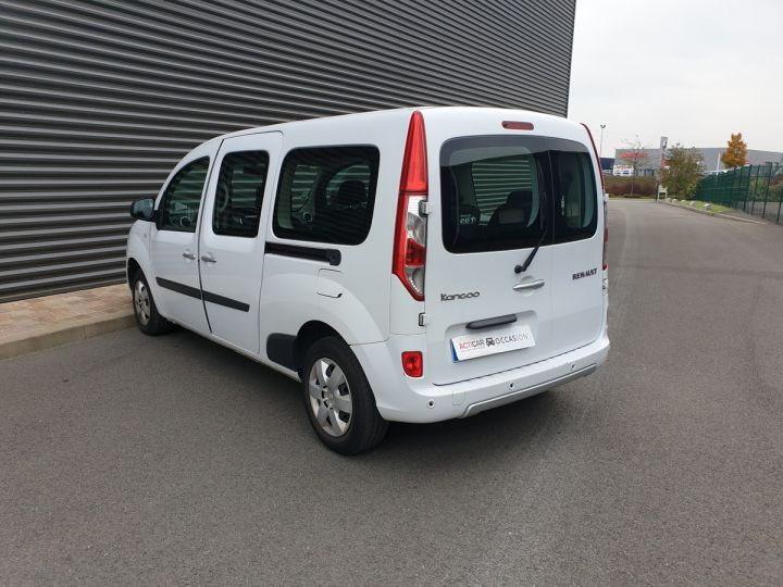 Renault Grand Kangoo 1.5 dci 110 intens 7 places Blanc Occasion - 13