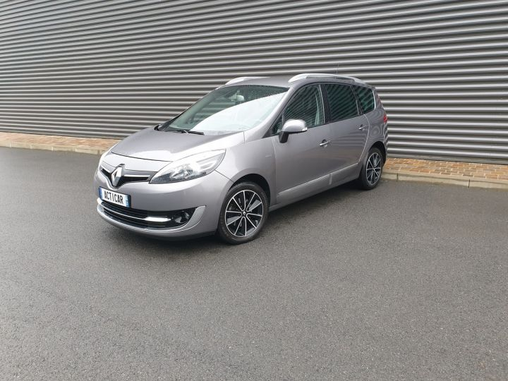 Renault Grand Scenic 3 1.5 dci 110 energy bose 7pl Gris Anthracite Occasion - 1