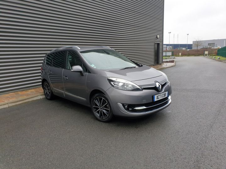 Renault Grand Scenic 3 1.5 dci 110 energy bose 7pl Gris Anthracite Occasion - 2