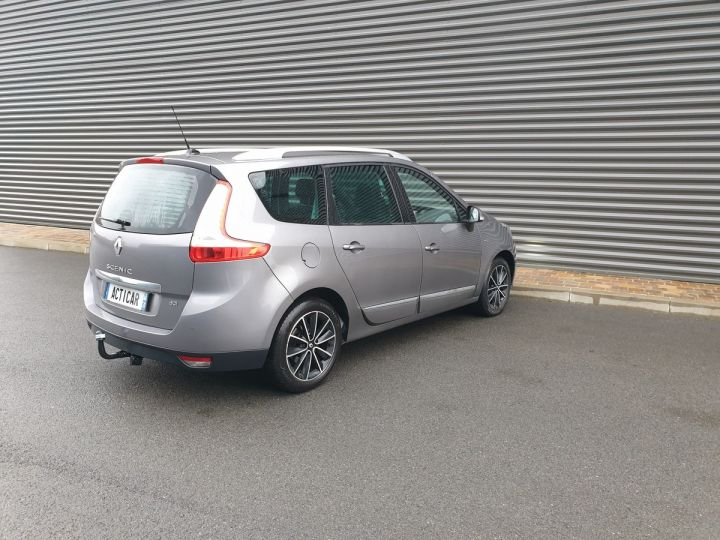 Renault Grand Scenic 3 1.5 dci 110 energy bose 7pl Gris Anthracite Occasion - 17