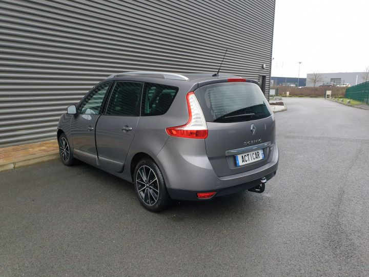 Renault Grand Scenic 3 1.5 dci 110 energy bose 7pl Gris Anthracite Occasion - 18