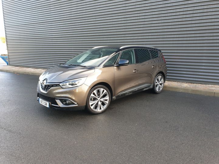 Renault Grand Scenic 4 1.6 dci 130 intens 7 places Marron Occasion - 1