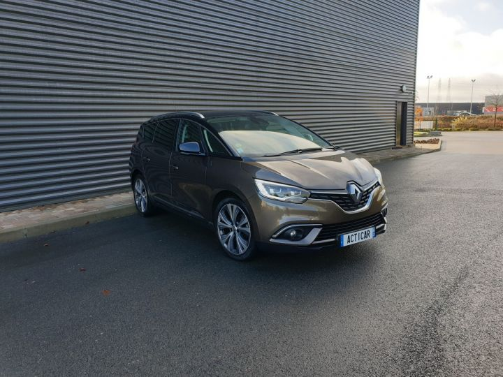 Renault Grand Scenic 4 1.6 dci 130 intens 7 places Marron Occasion - 2