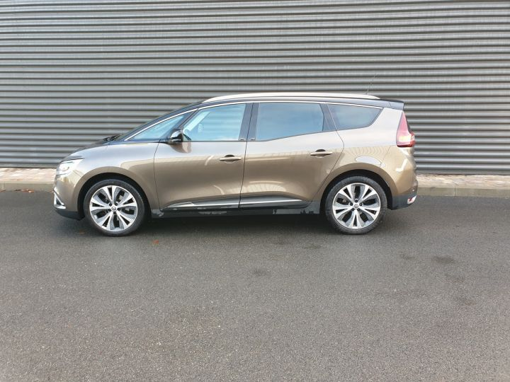 Renault Grand Scenic 4 1.6 dci 130 intens 7 places Marron Occasion - 4