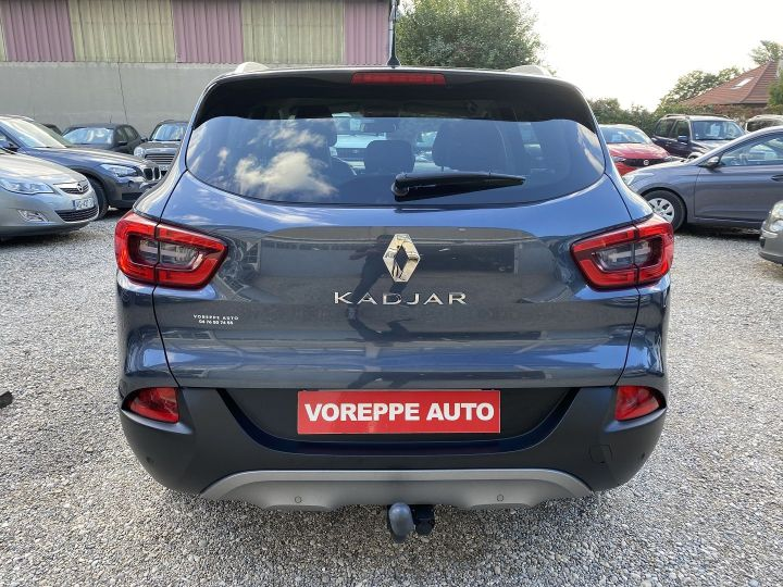 Renault Kadjar 1.6 DCI 130CH ENERGY EDITION ONE EXTENDED GRIP Gris F - 5