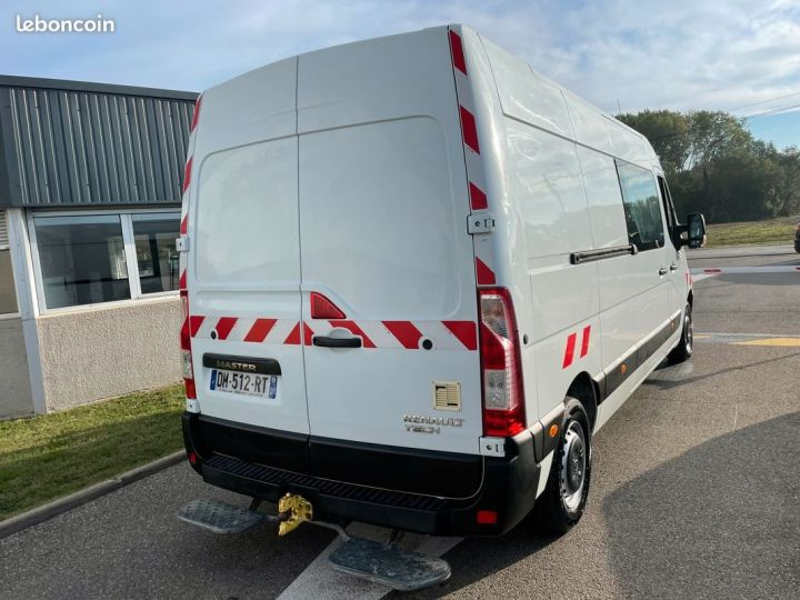 Renault Master 125cv l3h2 cabine approfondie 7 places double porte latérale  - 3
