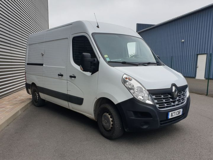 Renault Master 3 fourgon grand confort l2h2 130 i Blanc Occasion - 1