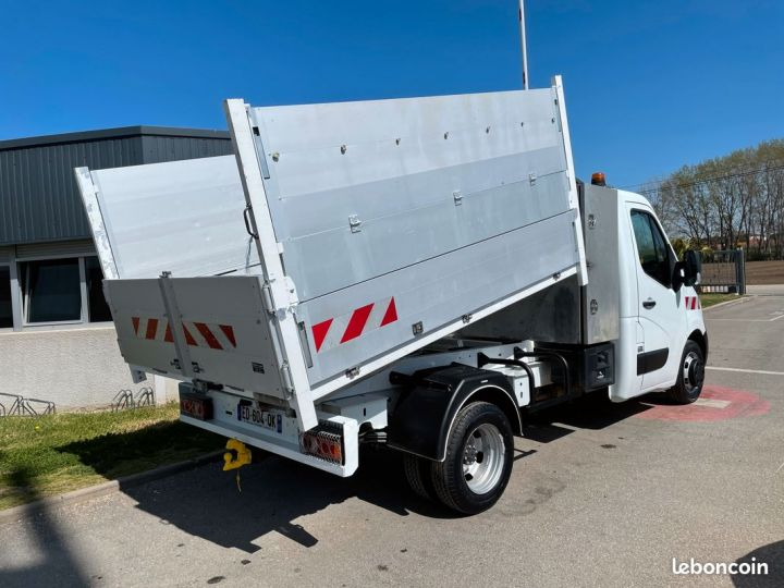 Renault Master benne coffre paysagiste 61000km  - 3