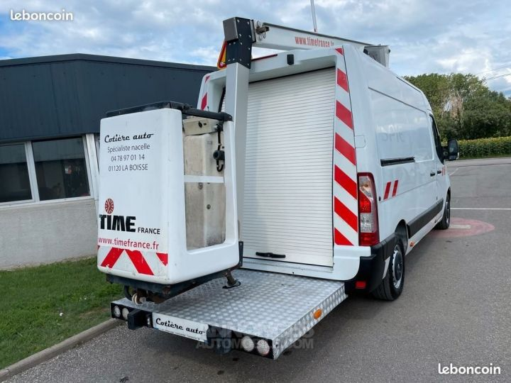 Renault Master l2h2 nacelle Time France 128.000km  - 5