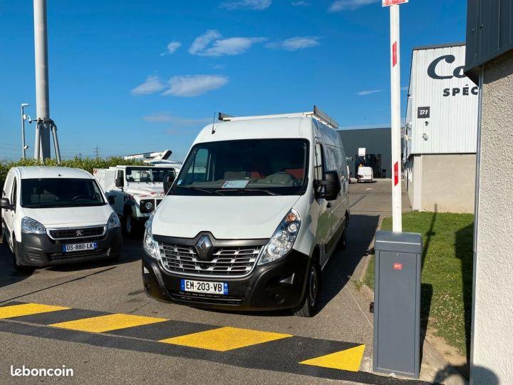 Renault Master PROMO RENTRÉE 2021 l2h2 galerie attelage 69000km Blanc - 5