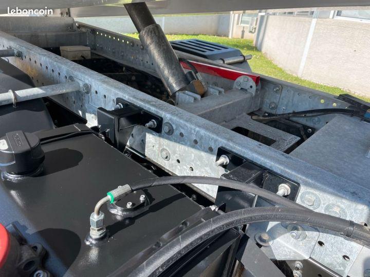 Renault Maxity benne grue palfinger pk3400 54.000km avec radio commande  - 6