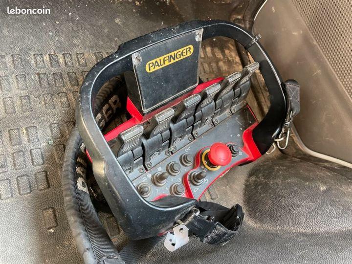 Renault Maxity benne grue palfinger pk3400 54.000km avec radio commande  - 7