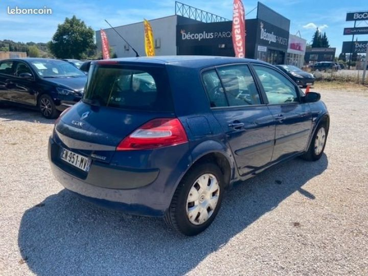 Renault Megane Bleu Occasion - 2