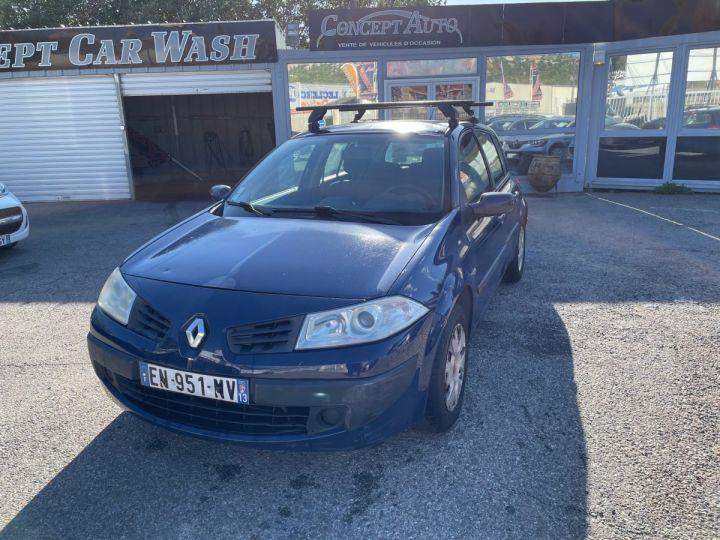 Renault Megane BLEU FONCE Occasion - 1