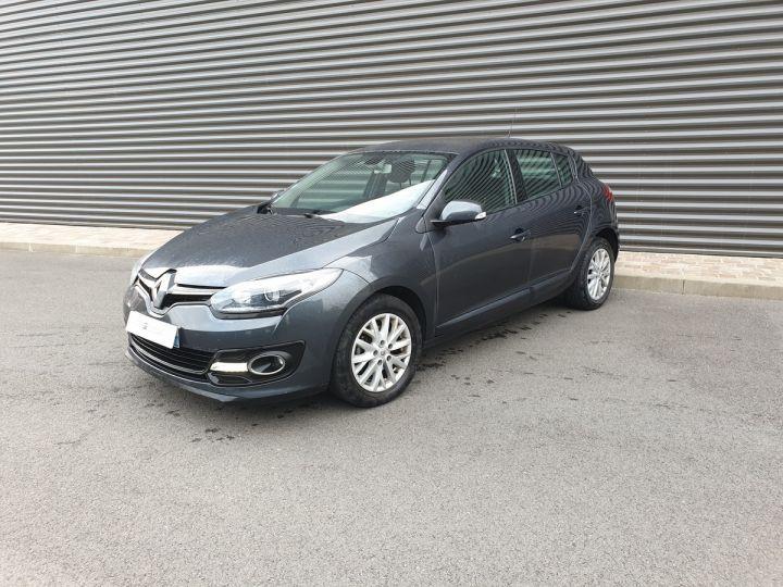 Renault Megane 3 III 1.5 DCI 110 ZEN 5 PORTES Gris Métallisé Occasion - 1