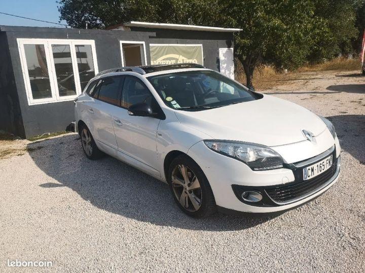 Renault Megane estate Blanc Occasion - 1