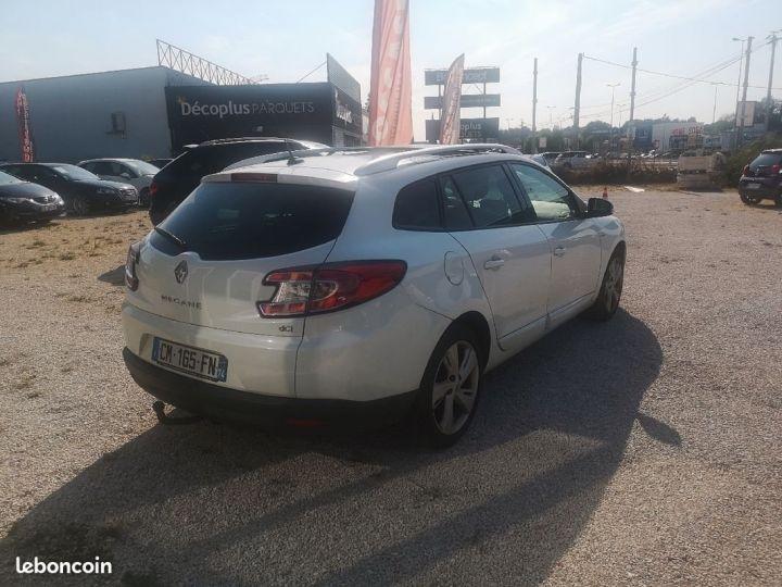 Renault Megane estate Blanc Occasion - 4