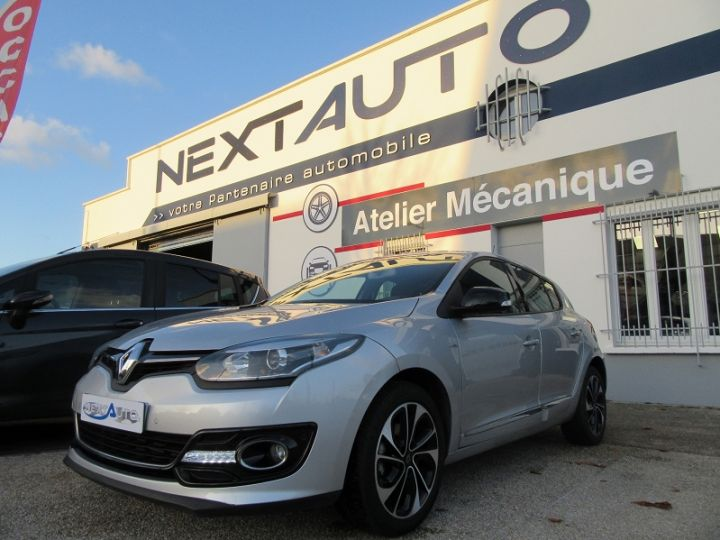 Renault MEGANE III 1.2 TCE 130CH ENERGY BOSE Gris Clair Occasion - 1