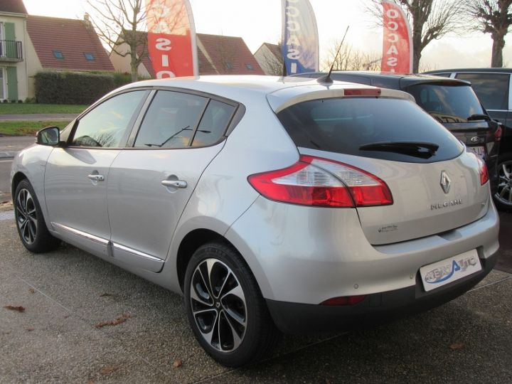 Renault MEGANE III 1.2 TCE 130CH ENERGY BOSE Gris Clair Occasion - 3