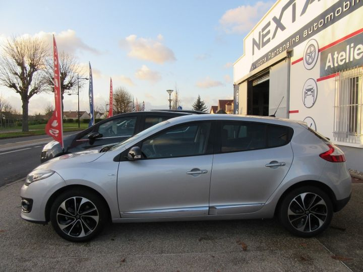Renault MEGANE III 1.2 TCE 130CH ENERGY BOSE Gris Clair Occasion - 5